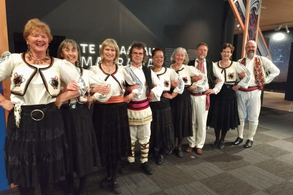Balkan beats in costume